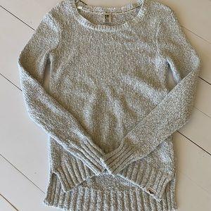 Roxy cream colored sweater